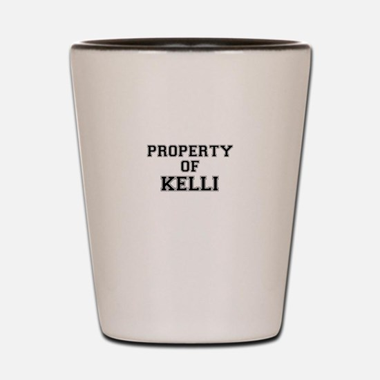 Property of KELLI Shot Glass