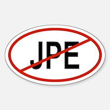 JPE Oval Decal
