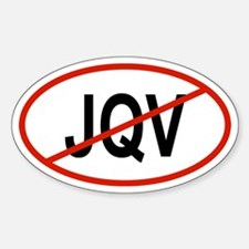 JQV Oval Decal