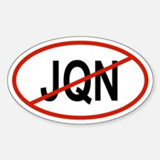 JQN Oval Decal