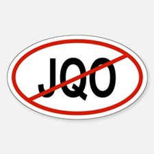 JQO Oval Decal