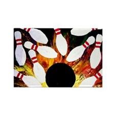 Cute Bowl Rectangle Magnet (100 pack)