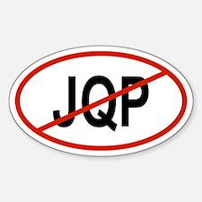 JQP Oval Decal