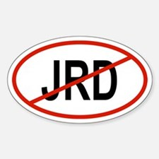 JRD Oval Decal