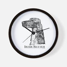 Irish Setter Dog Breed Wall Clock