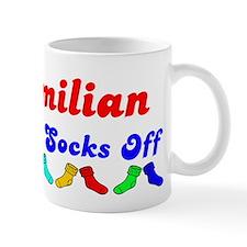 Maximilian Rocks Socks (B) Small Mug