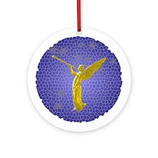 Angelic Angel Ornament (Round)