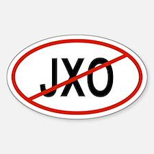 JXO Oval Decal