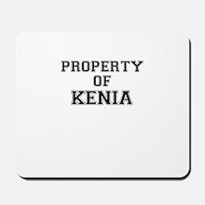 Property of KENIA Mousepad