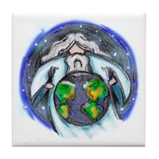 May He Bless The World! Tile Coaster