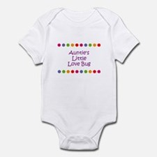 Auntie's Little Love Bug Infant Bodysuit