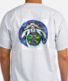 May He Bless The World! Ash Grey T-Shirt