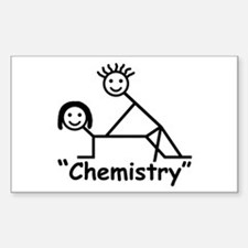 """Chemistry"" Rectangle Decal"