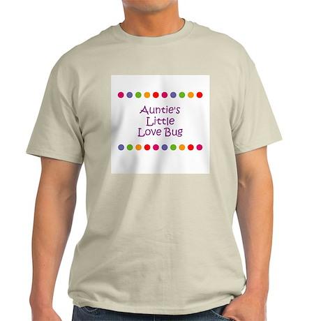 Auntie's Little Love Bug Light T-Shirt