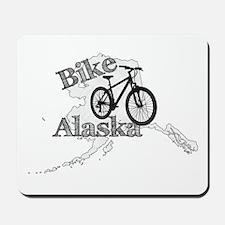 Bike Alaska Mousepad