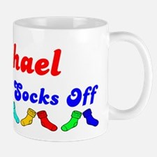 Michael Rocks Socks (B) Mug