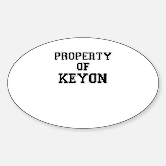 Property of KEYON Decal