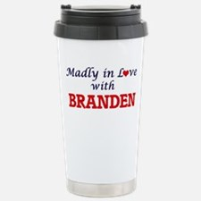 Madly in love with Bran Travel Mug