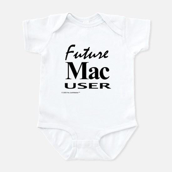 """Future Mac User"" Infant Creeper"