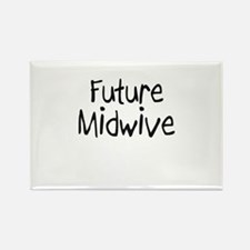Future Midwive Rectangle Magnet