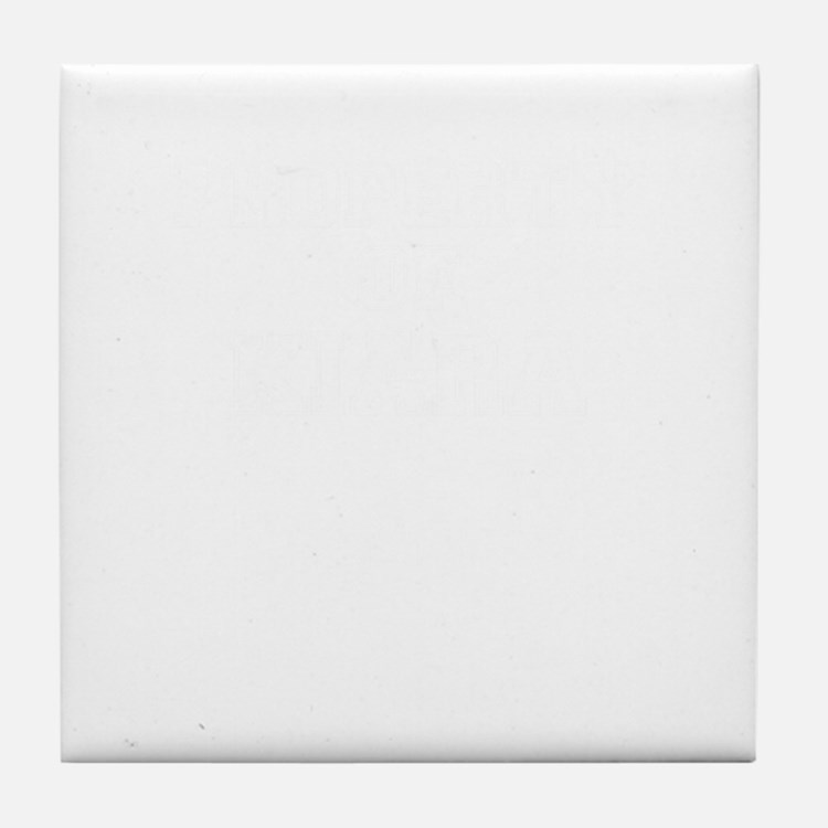 Property of KIARA Tile Coaster