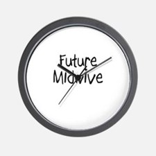 Future Midwive Wall Clock