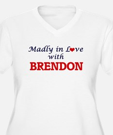 Madly in love with Brendon Plus Size T-Shirt