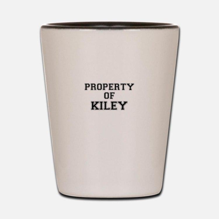 Property of KILEY Shot Glass