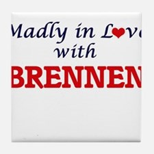 Madly in love with Brennen Tile Coaster