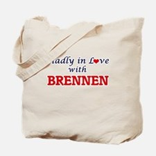 Madly in love with Brennen Tote Bag