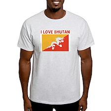I LOVE BHUTAN T-Shirt