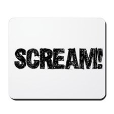 Scream! Mousepad