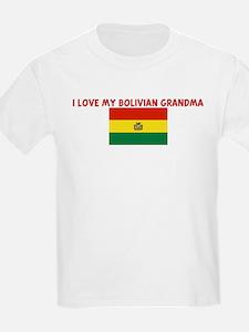 I LOVE MY BOLIVIAN GRANDMA T-Shirt