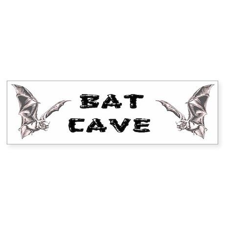 Bat Cave Bumper Sticker