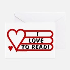 Love to Read Greeting Cards (Pk of 10)