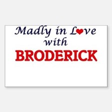 Madly in love with Broderick Decal