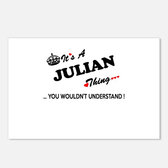 JULIAN thing, you wouldn' Postcards (Package of 8)