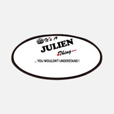 JULIEN thing, you wouldn't understand Patch