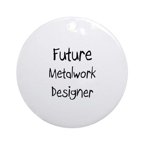 Future Metalwork Designer Ornament (Round)