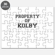 Property of KOLBY Puzzle