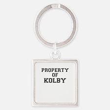 Property of KOLBY Keychains