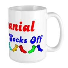 Nathanial Rocks Socks (B) Mug