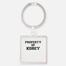 Property of KOREY Keychains