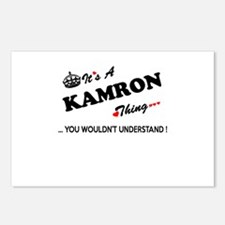 KAMRON thing, you wouldn' Postcards (Package of 8)