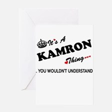 KAMRON thing, you wouldn't understa Greeting Cards