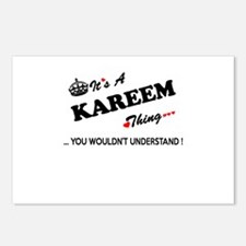 KAREEM thing, you wouldn' Postcards (Package of 8)