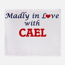 Madly in love with Cael Throw Blanket