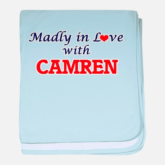 Madly in love with Camren baby blanket