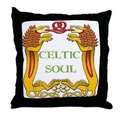 Celtic Soul Throw Pillow