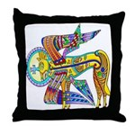 Kells Winged Creature Throw Pillow